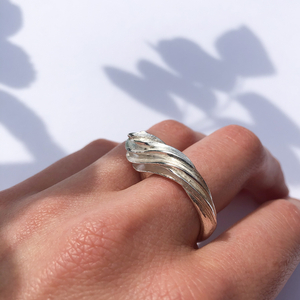 Silver ring perfect for everyday